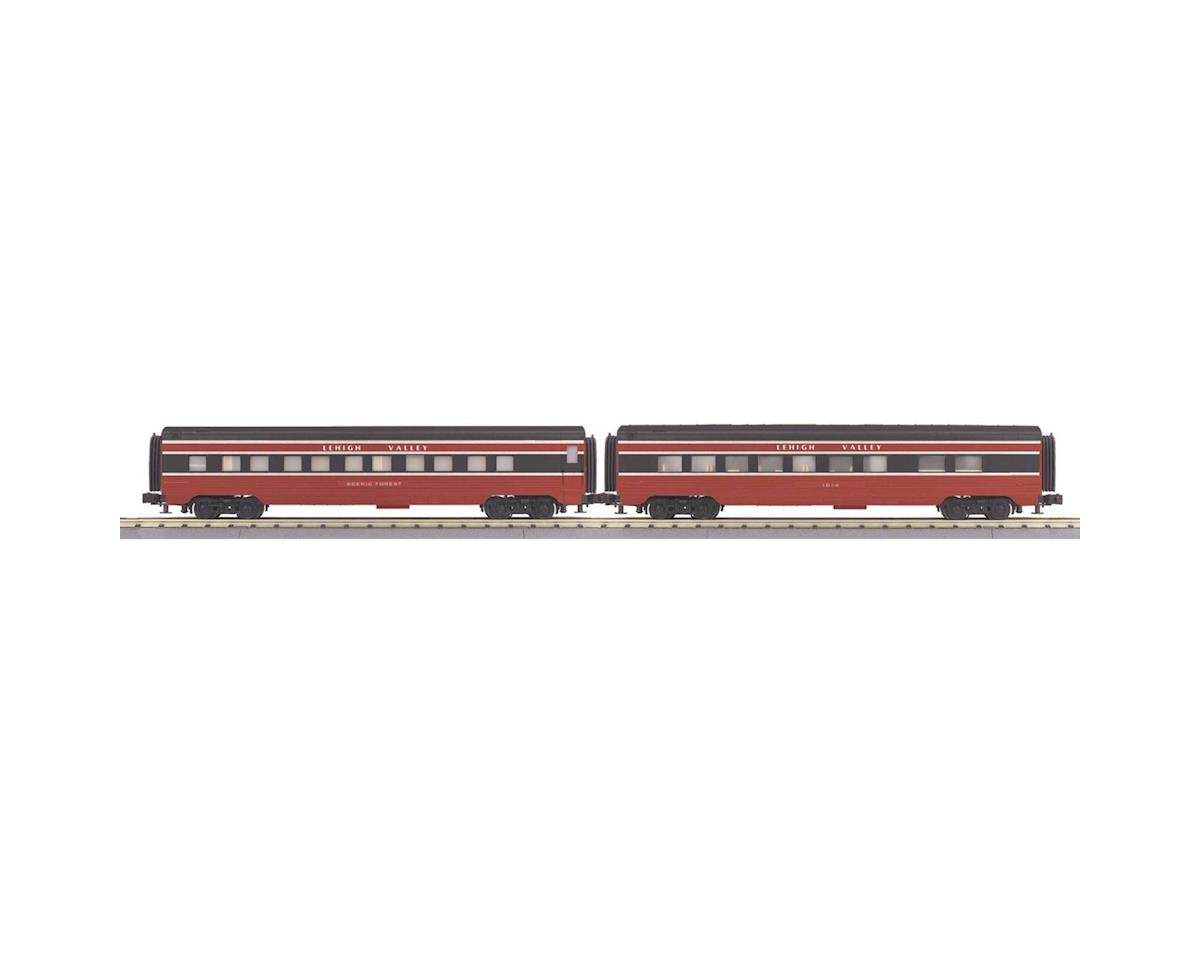 MTH Trains O-27 60' Streamline Sleeper/Diner, LV