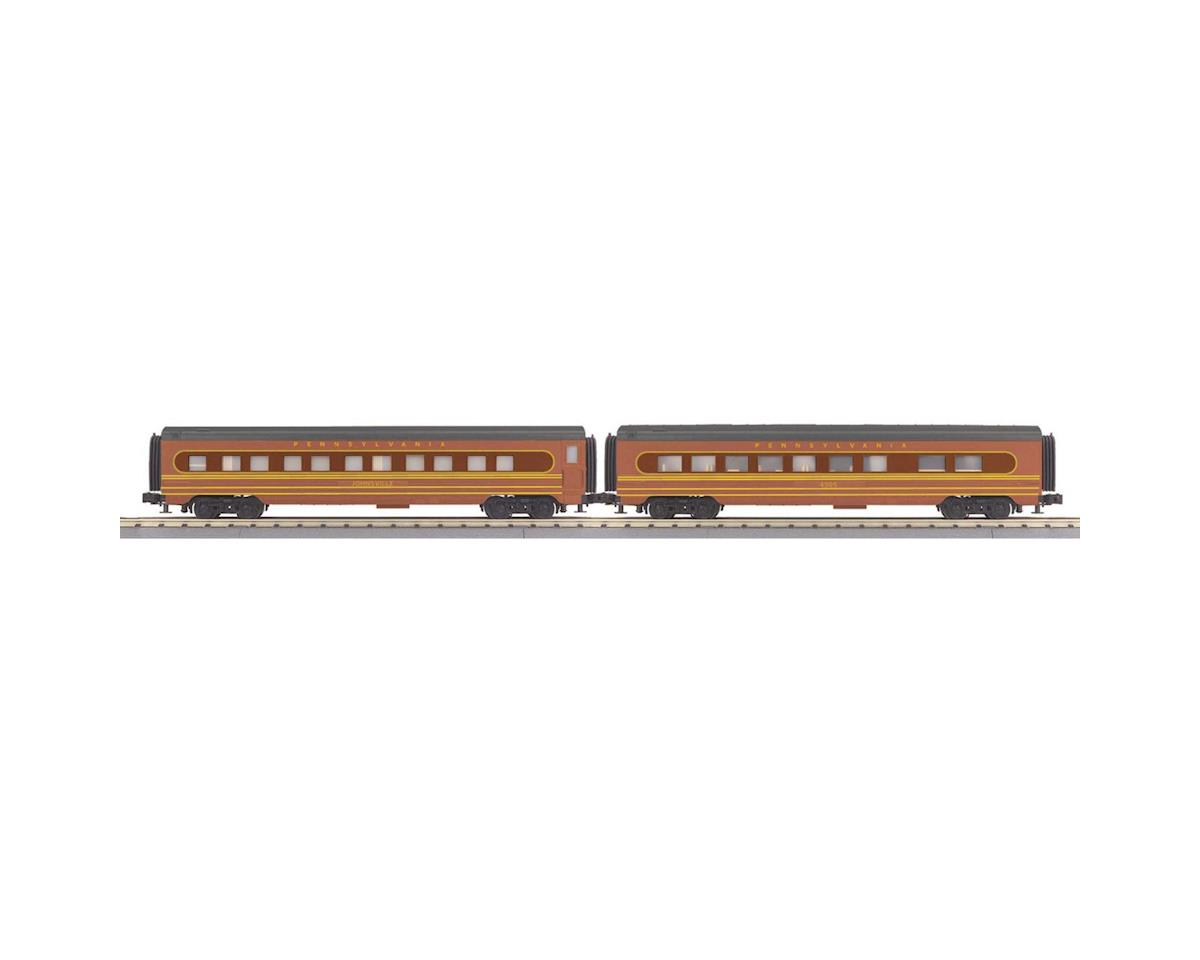 MTH Trains O-27 60' Streamline Sleeper/Diner, PRR