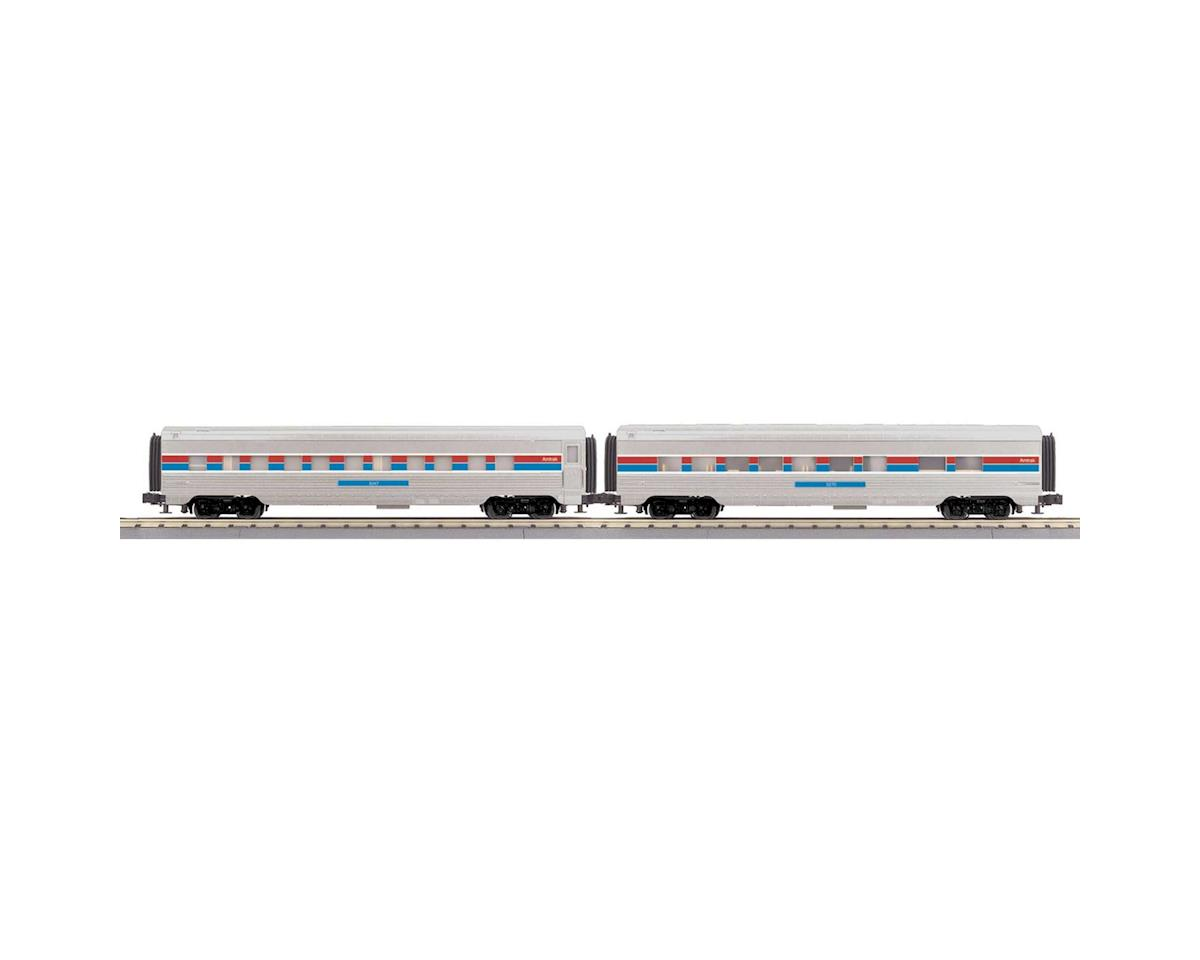 MTH Trains O-27 60' Streamlined Sleeper/Diner, Amtrak