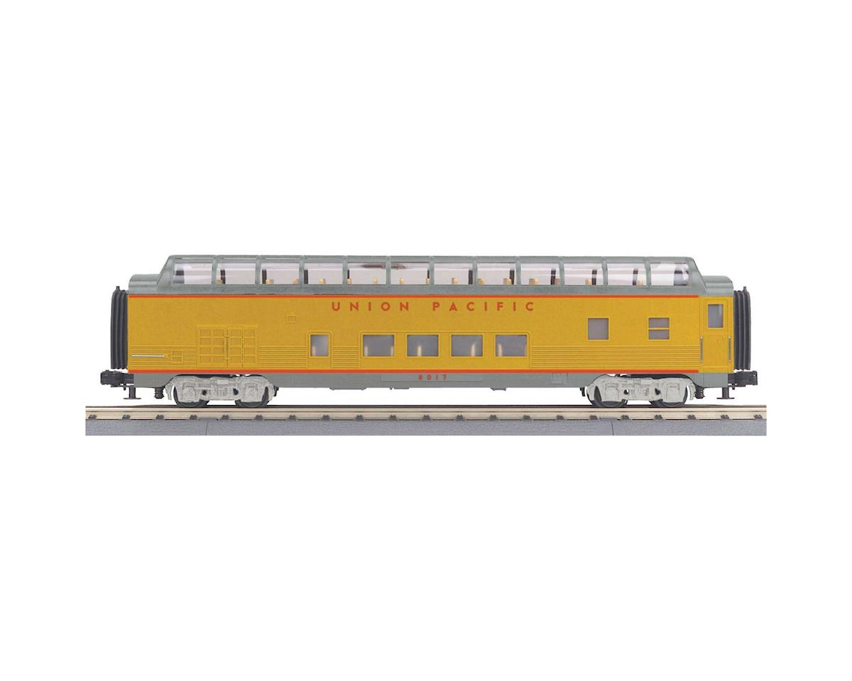 MTH Trains O-27 60' Streamlined Full Vista Dome, UP