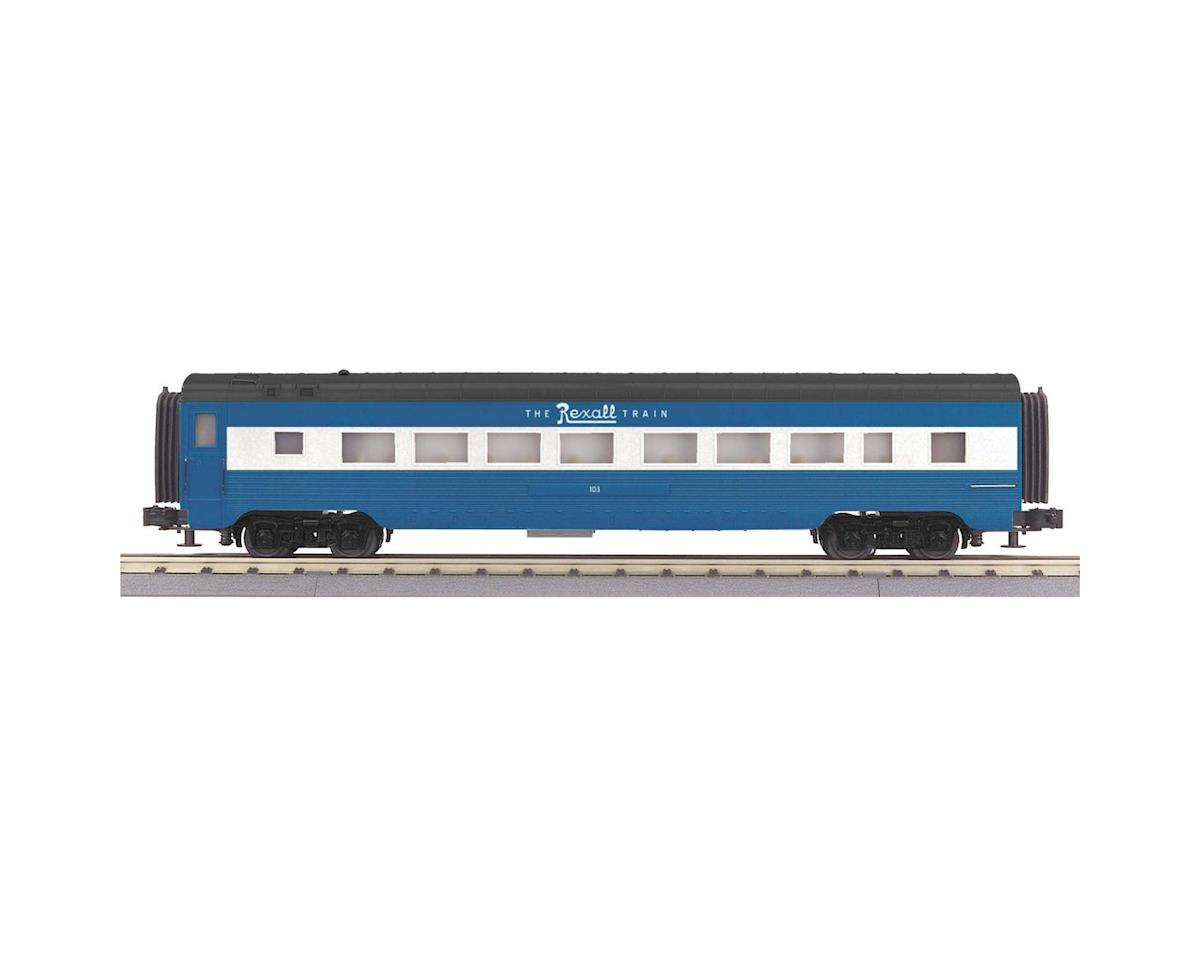 MTH Trains O-27 60' Streamlined Coach, Rexall