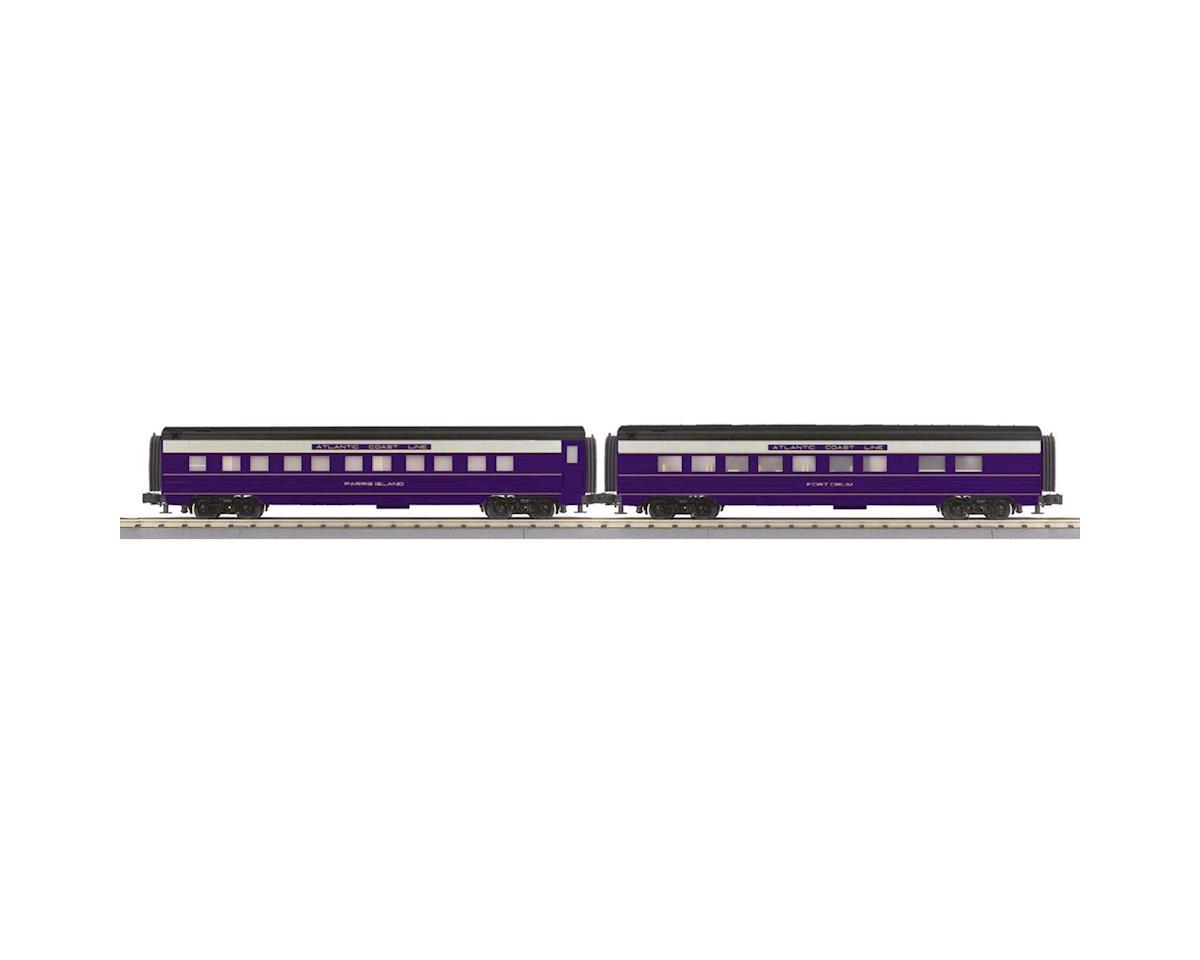 MTH Trains O-27 60' Streamline Sleeper/Diner, ACL