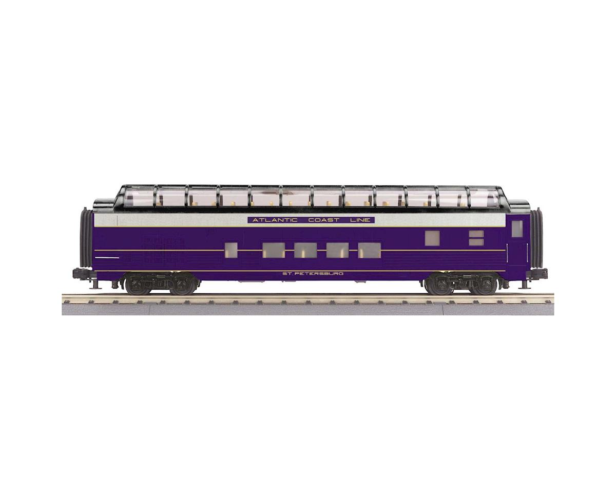 MTH Trains O-27 60' Streamline Full Vista Dome, ACL