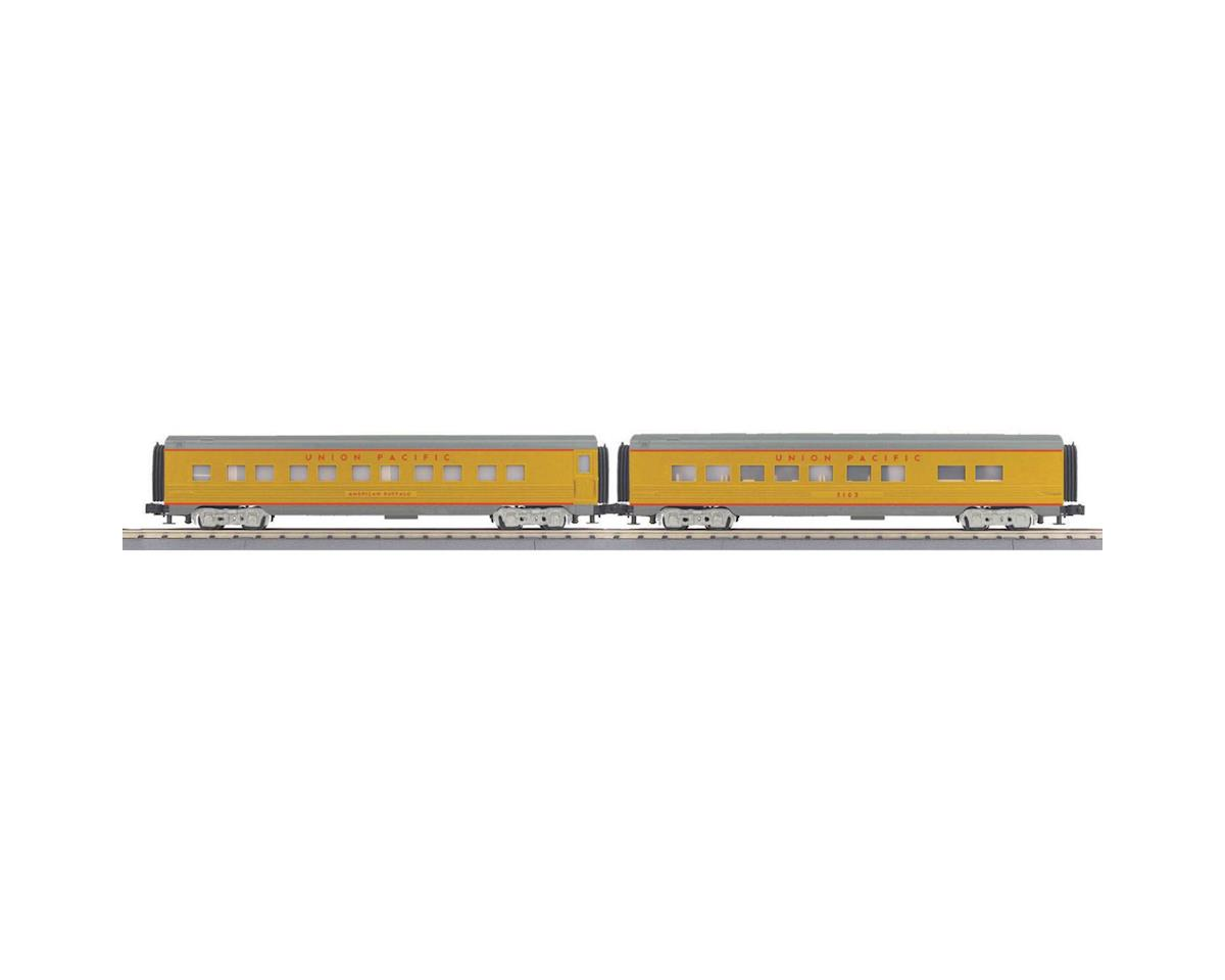 MTH Trains O-27 60' Streamline Sleeper/Diner, UP