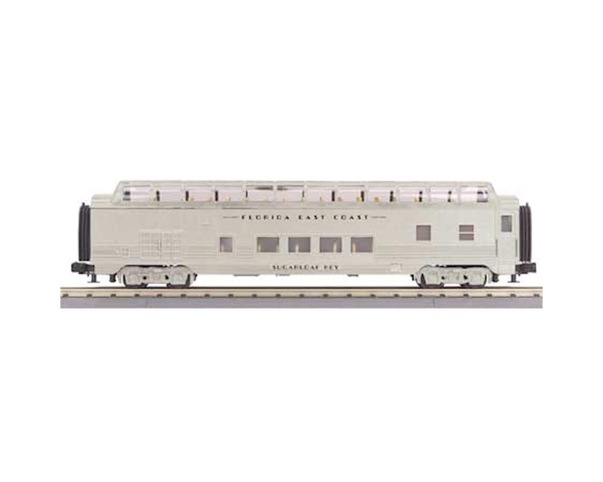 MTH Trains O-27 60' Streamline Full Vista Dome, FEC