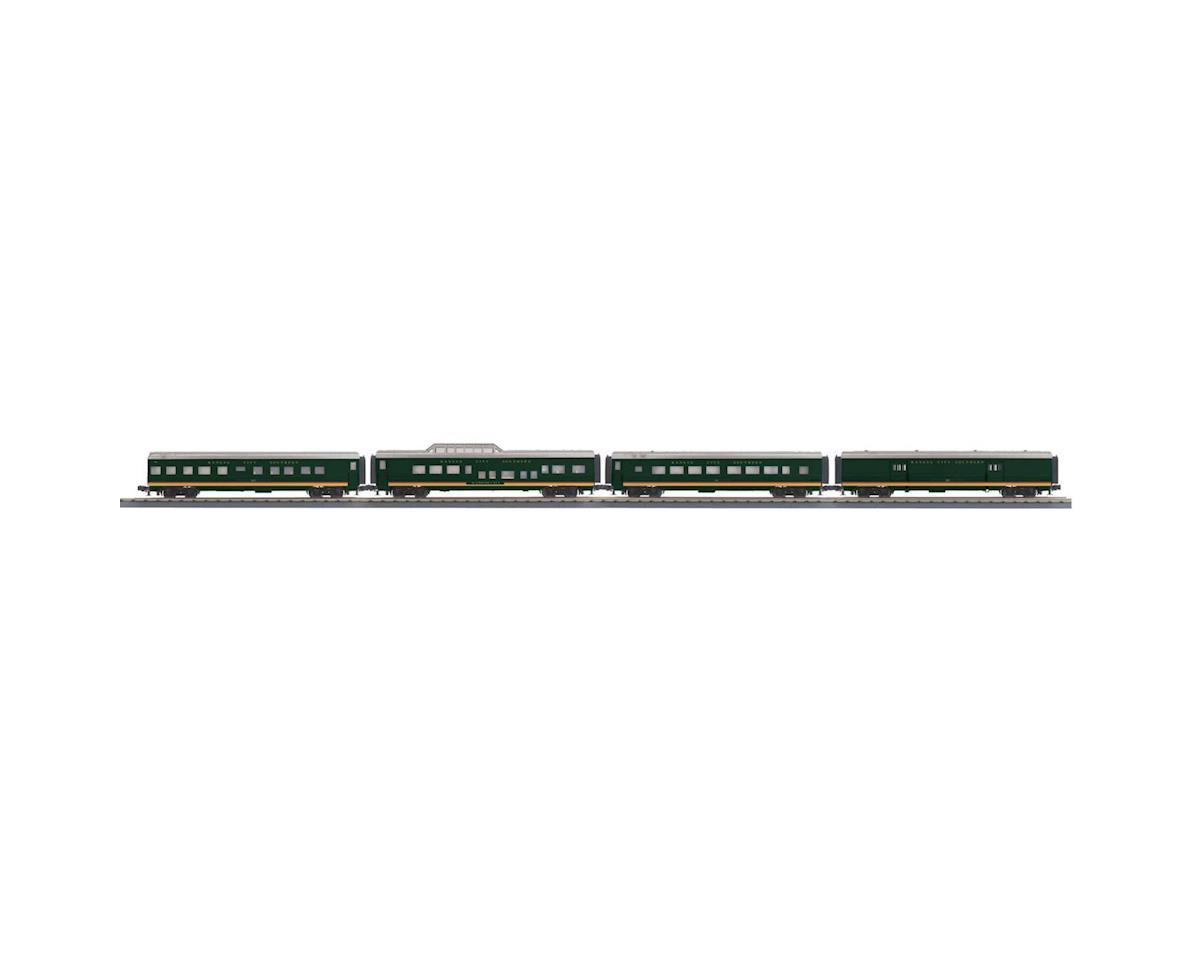 MTH Trains O-27 60' Streamline Passenger, KCS #23 (4)