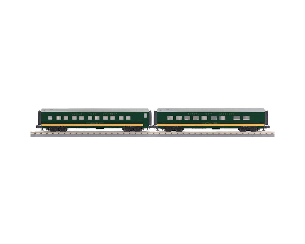 MTH Trains O-27 60' Streamline Sleeper/Diner, KCS