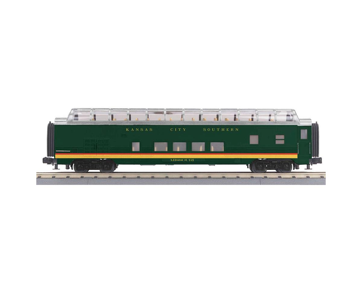 MTH Trains O-27 60' Streamline Full Vista Dome, KCS