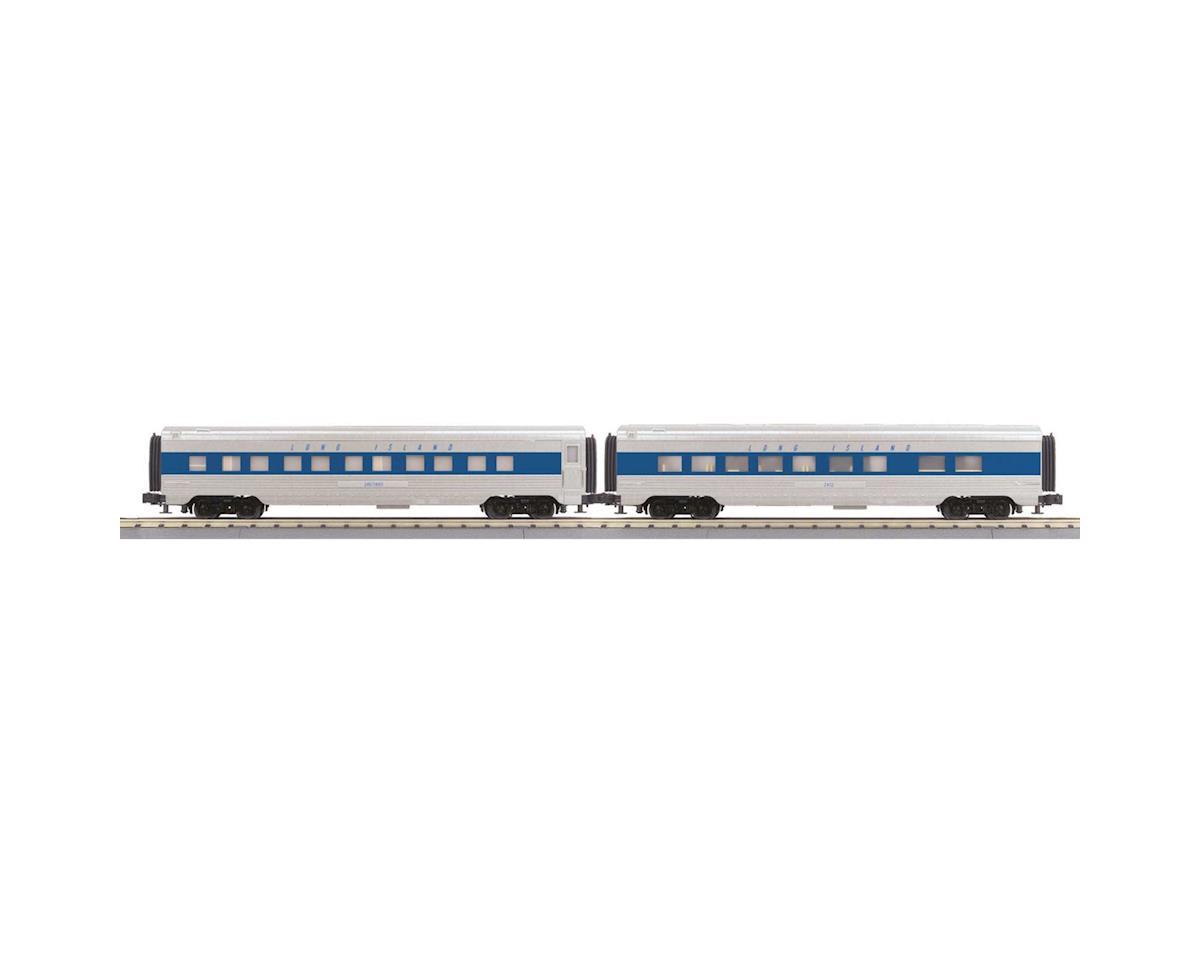 MTH Trains O-27 60' Streamline Sleeper/Diner, LIRR