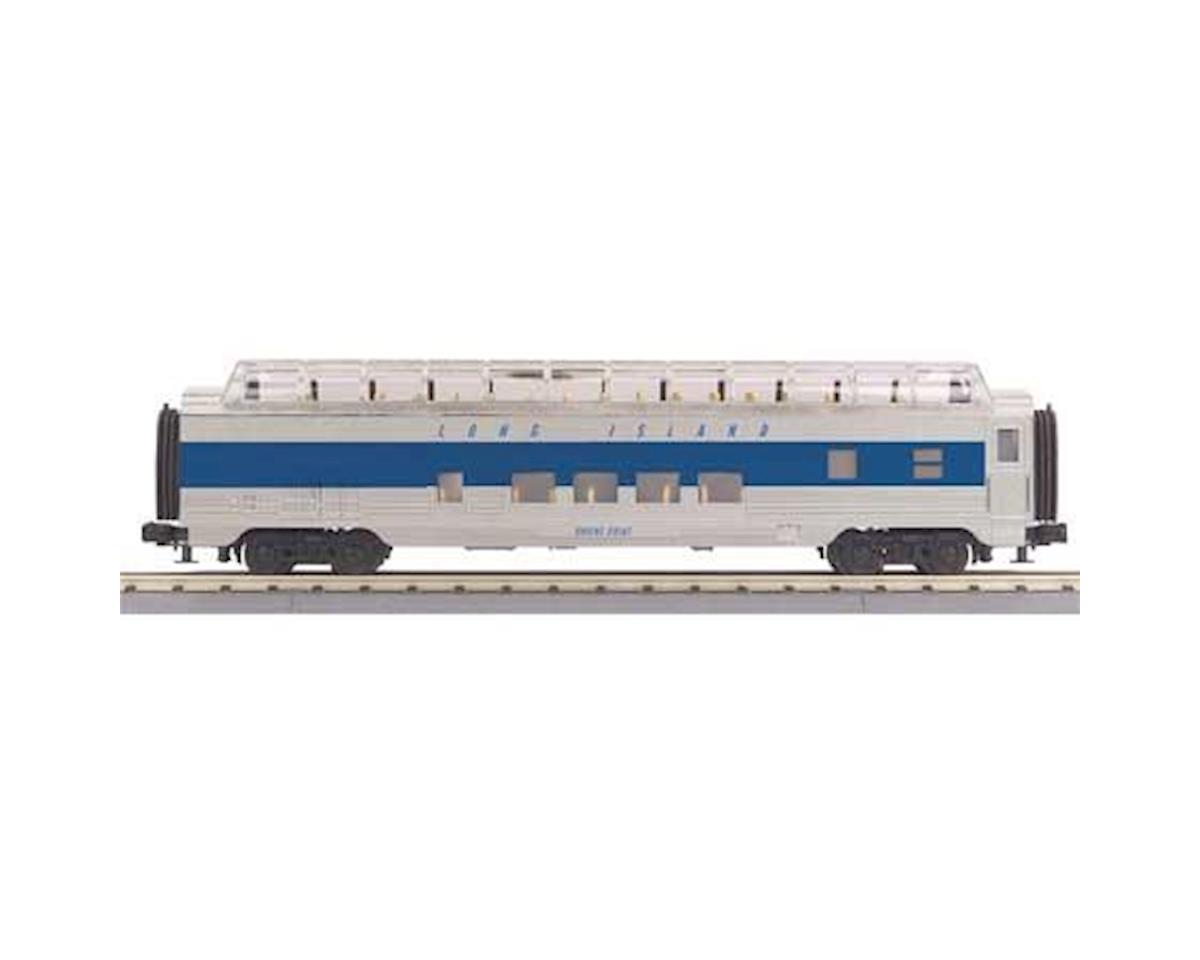 MTH Trains O-27 60' Streamline Full Vista Dome, LIRR
