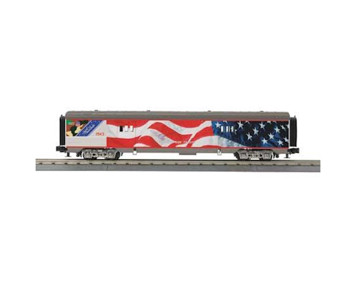 MTH Trains O-27 60' Streamline Baggage, UP
