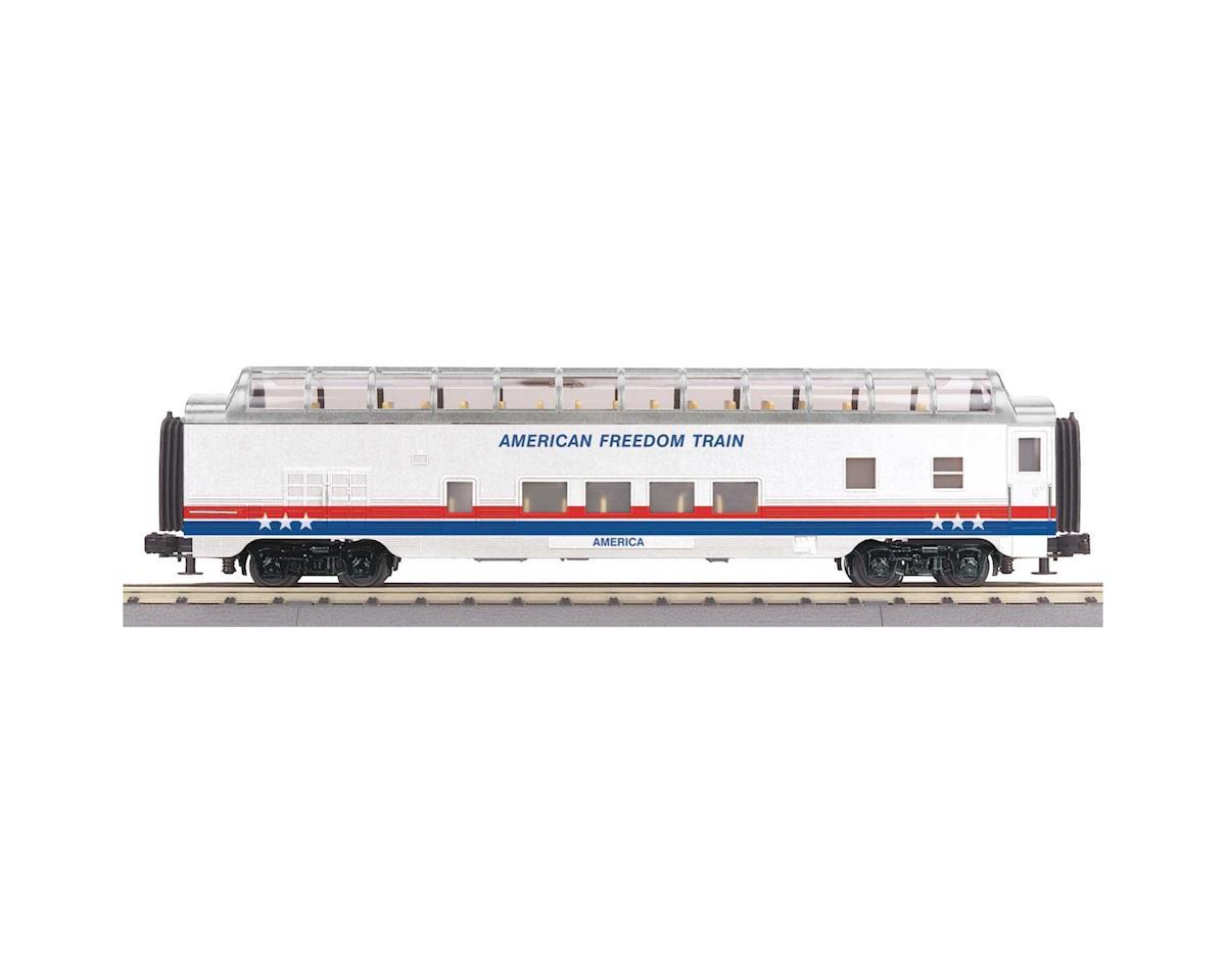 MTH Trains O-27 60' Streamline Full Vista, American Freedom