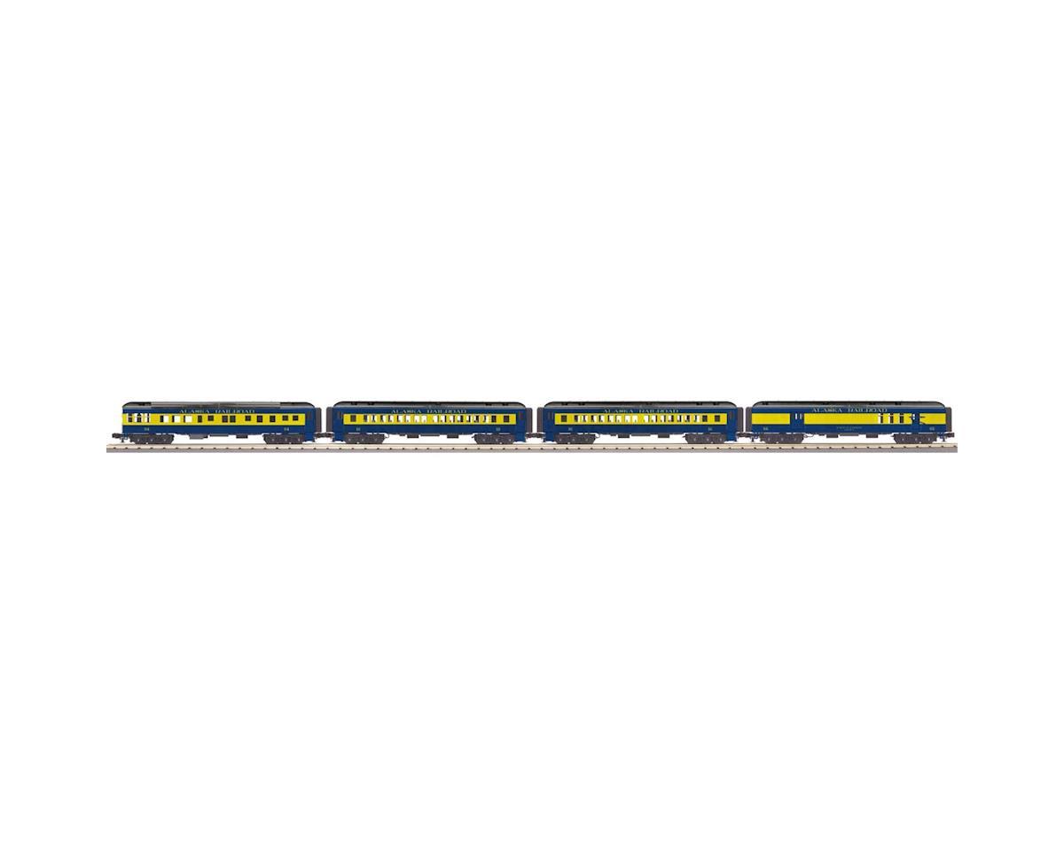 MTH Trains O-27 60' Madison Passenger, ARR (4)