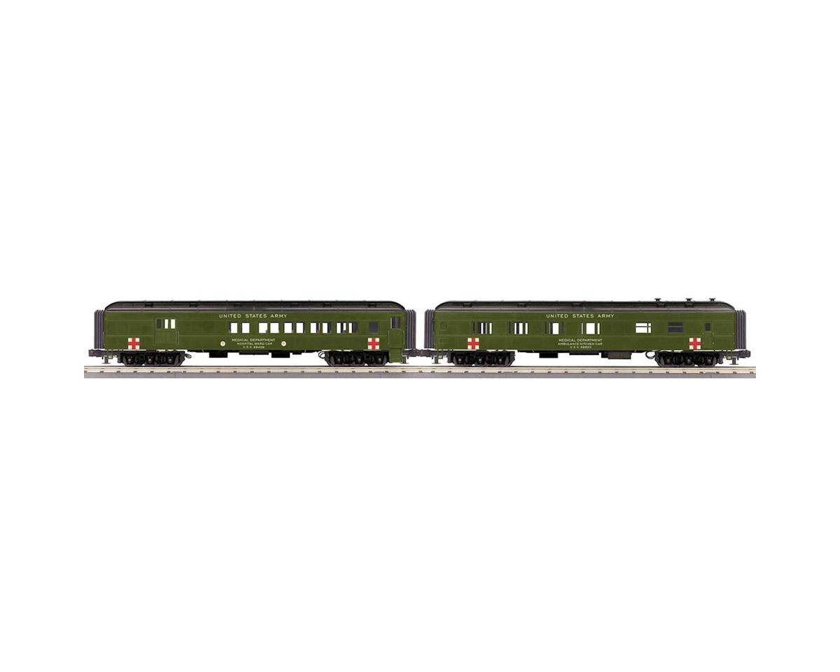 MTH Trains O-27 60' Madison Combo/Diner, US Army