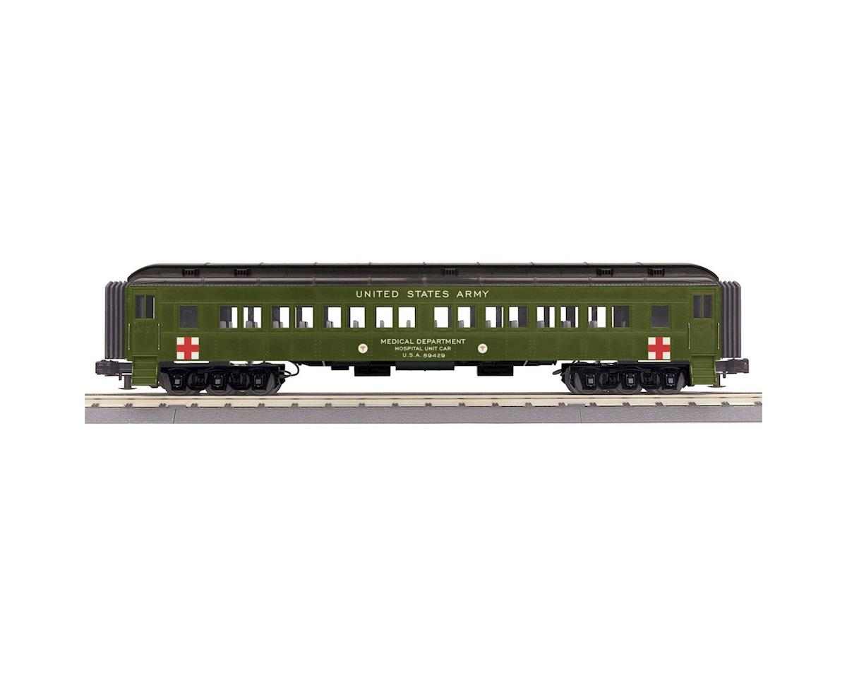 O-27 60' Madison Coach, US Army by MTH Trains