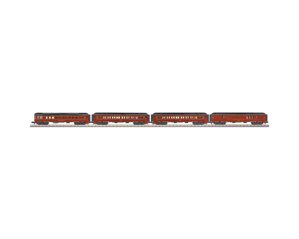 MTH Trains O-27 60' Madison Passenger, PRR (4)