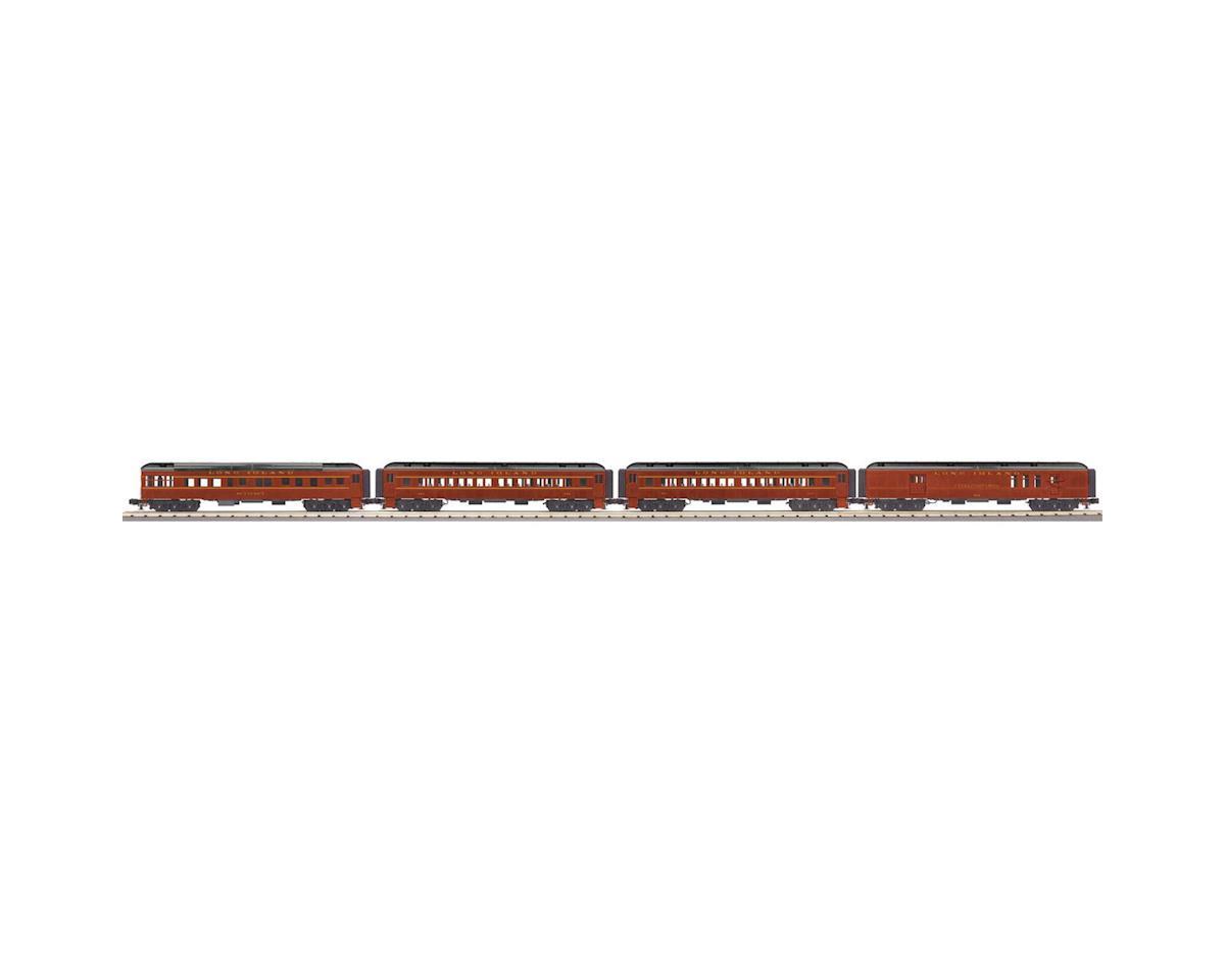 MTH Trains O-27 60' Madison Passenger, LIRR (4)
