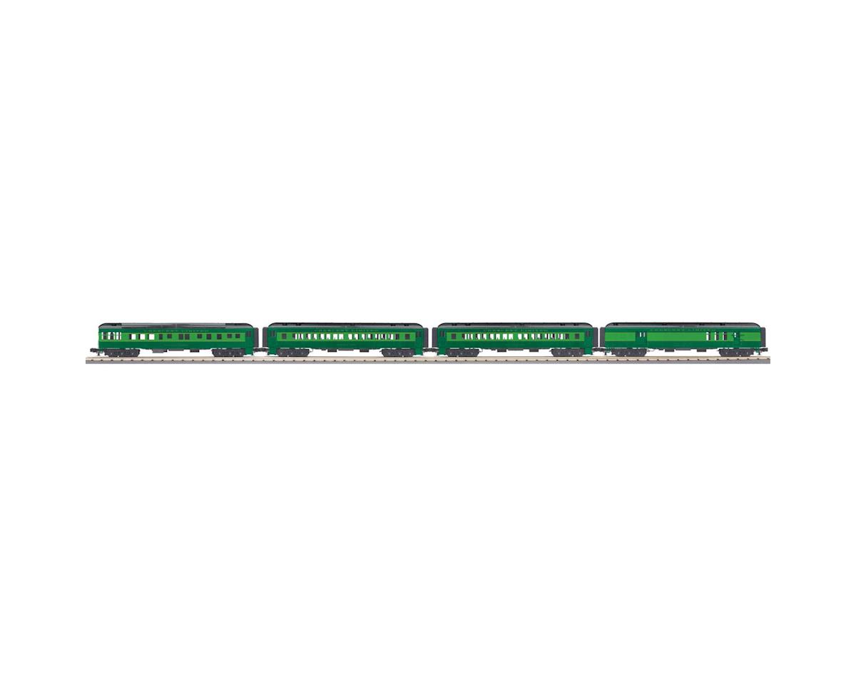 MTH Trains O-27 60' Madison Passemger, SOU #104 (4)