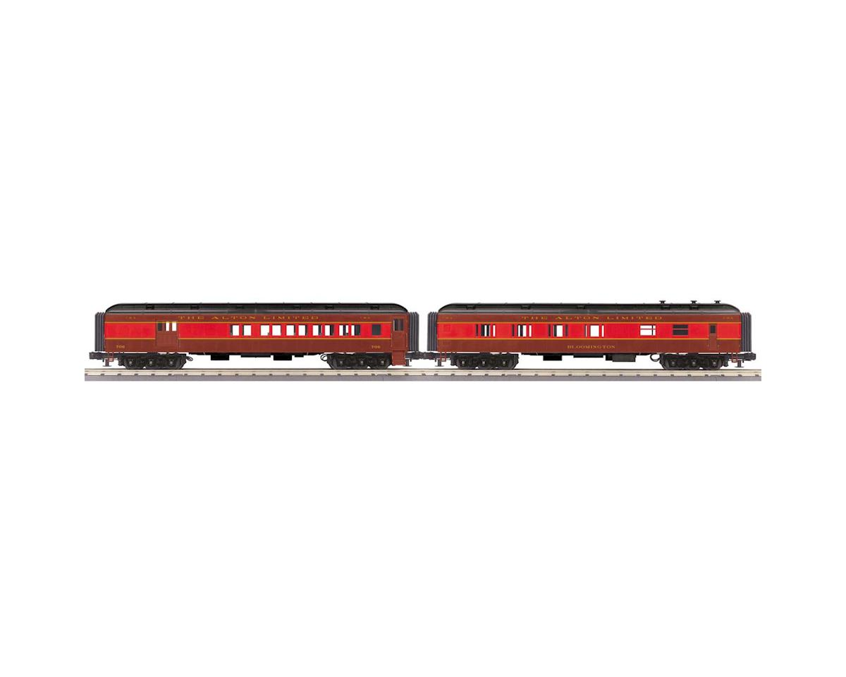 MTH Trains O-27 60' Madison Combo/Diner, C&A #706