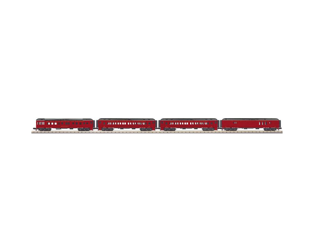 MTH Trains O-27 60' Madison Passenger, RNRX #1252 (4)