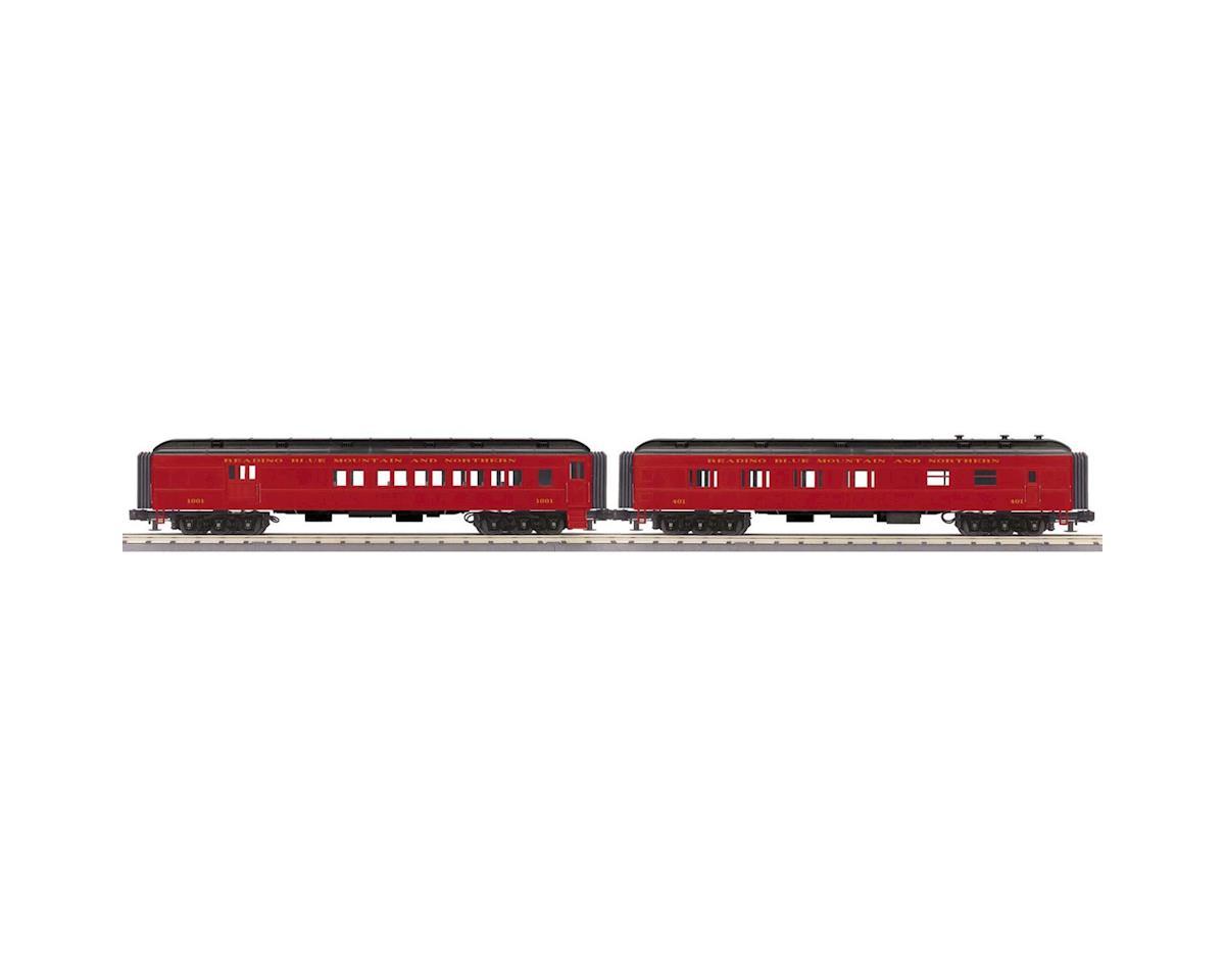 MTH Trains O-27 60' Madison Combo/Diner, RNRX #1001