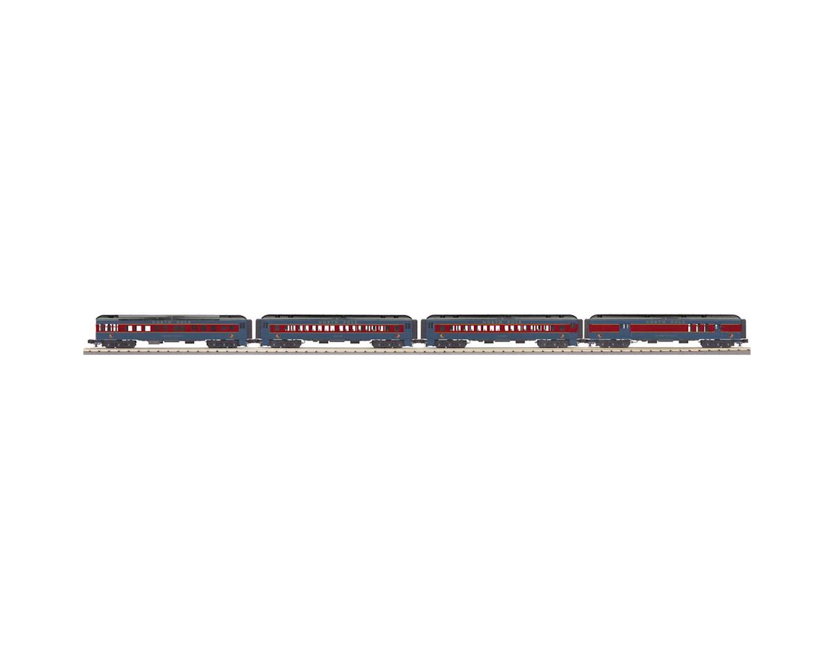 MTH Trains O-27 60' Madison Passenger, North Pole/Letters (4)