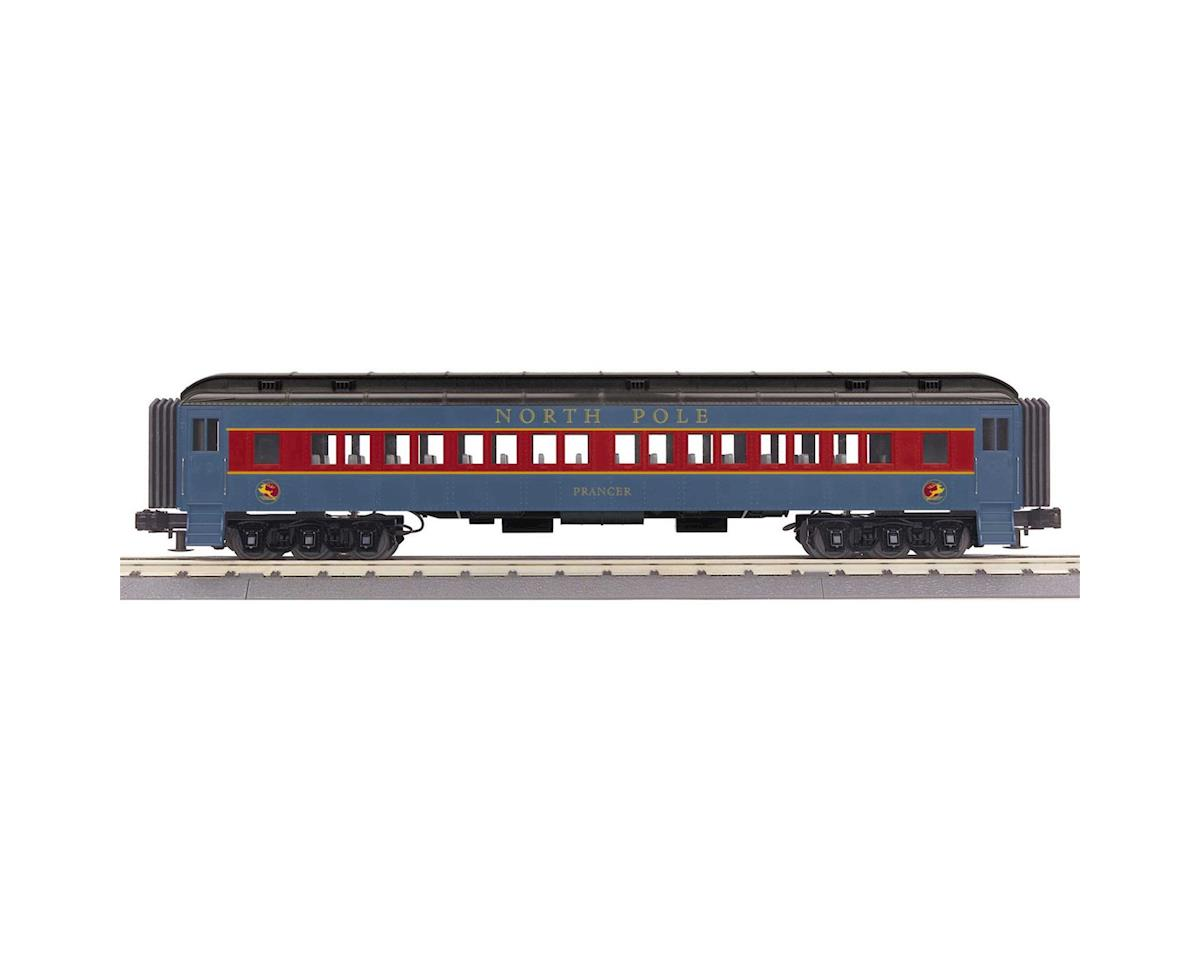 O-27 60' Madison Coach, North Pole/Prancer by MTH Trains