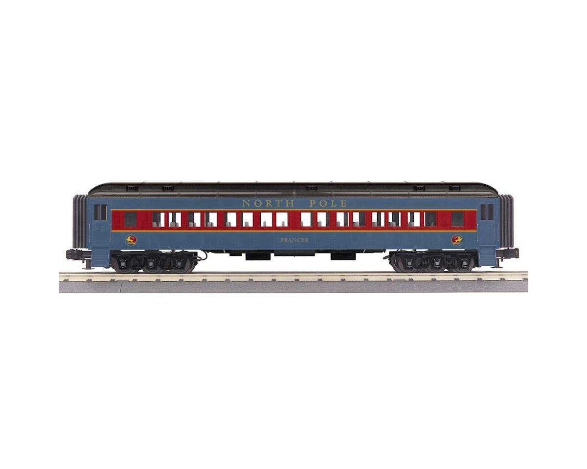 MTH Trains O-27 60' Madison Coach, North Pole/Prancer