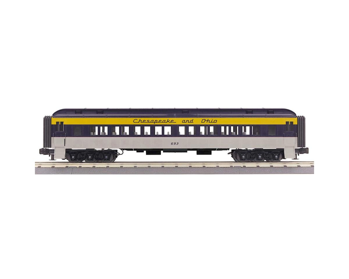 MTH Trains O-27 60' Madison Coach, C&0 #693