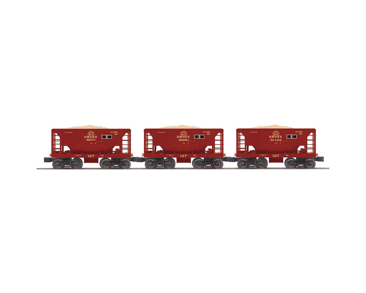 MTH Trains O-27 Ore Car Set, DM&IR #1(3)
