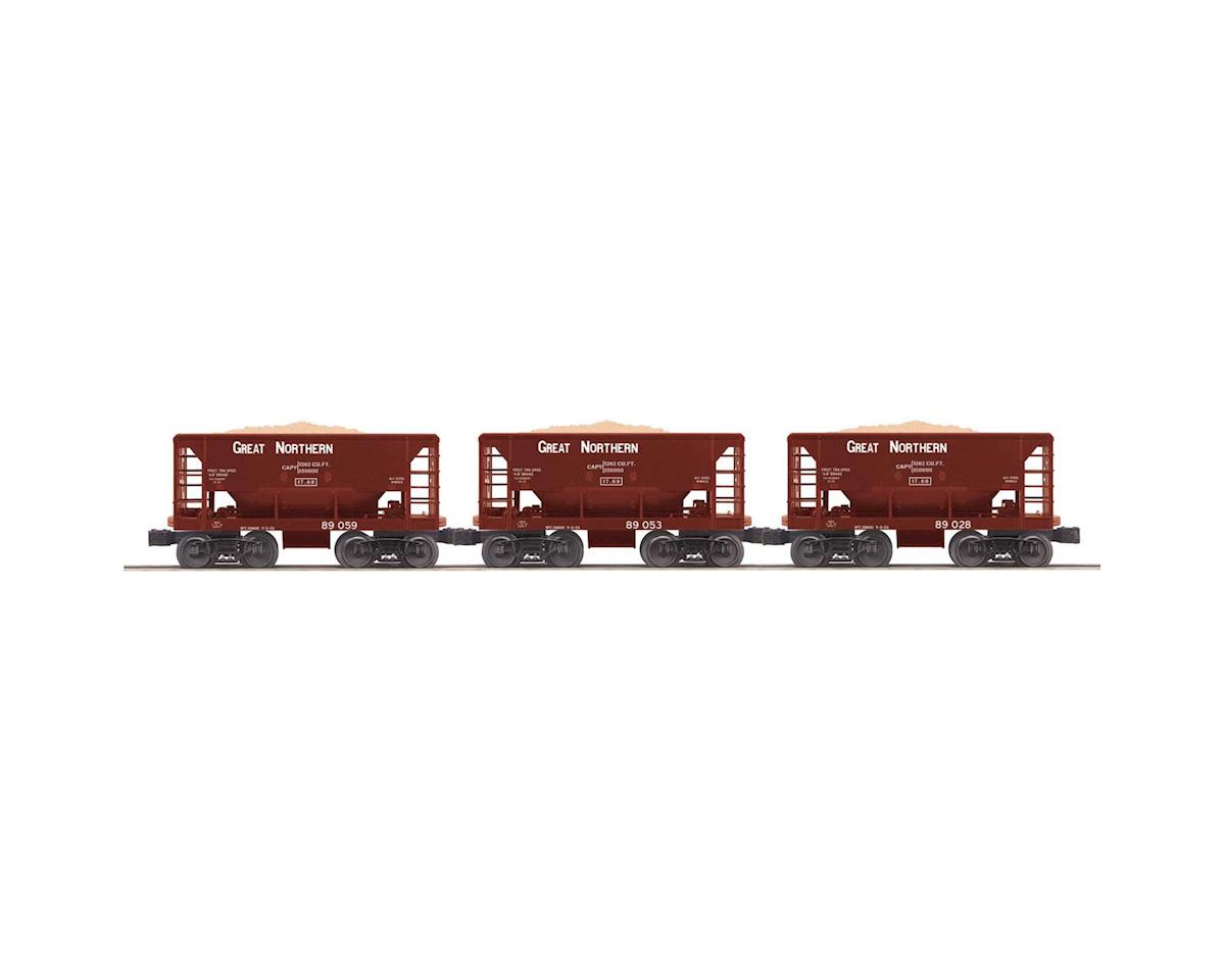 MTH Trains O-27 Ore Car Set, GN (3)