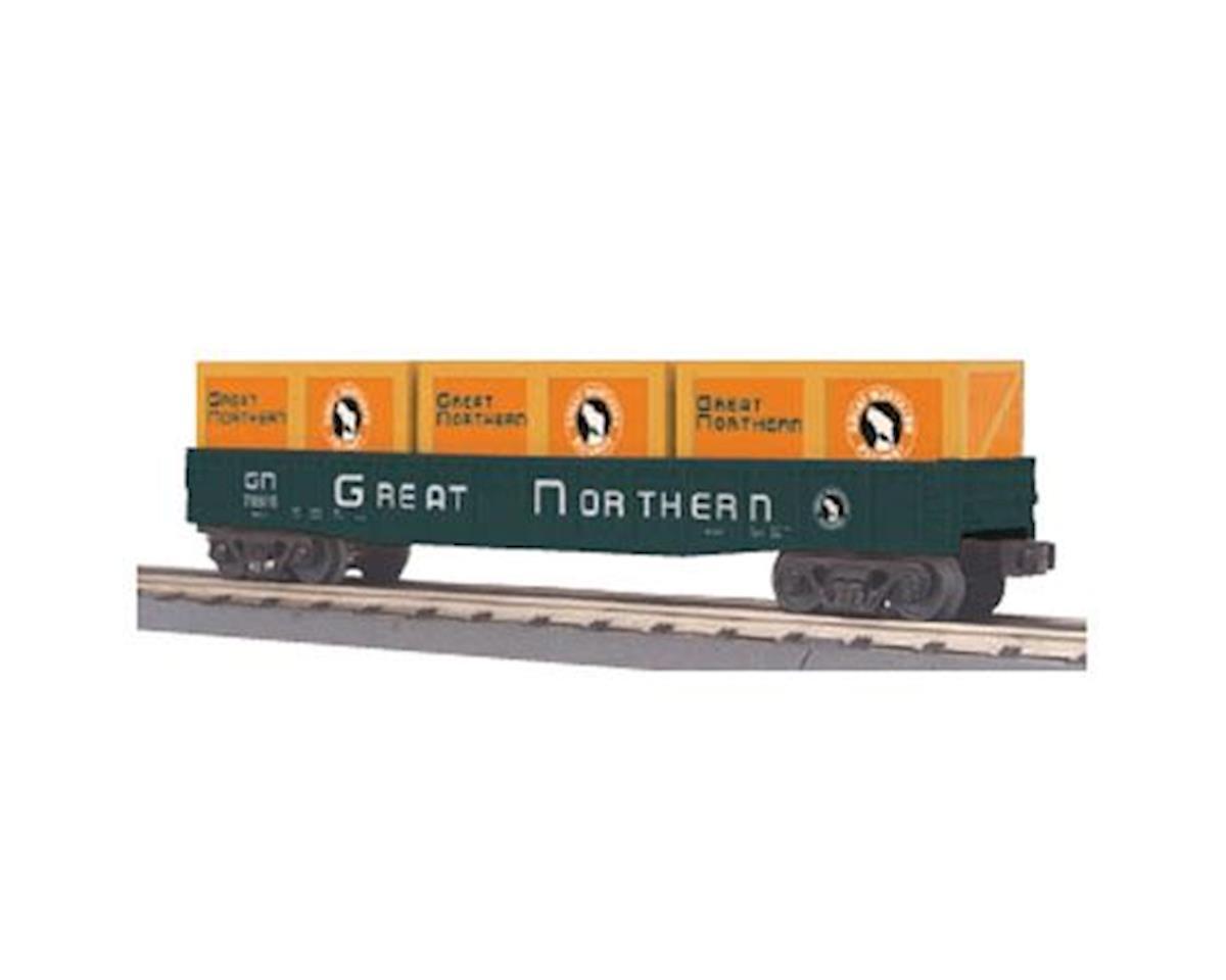 MTH Trains O-27 Gondola w/Crates, GN