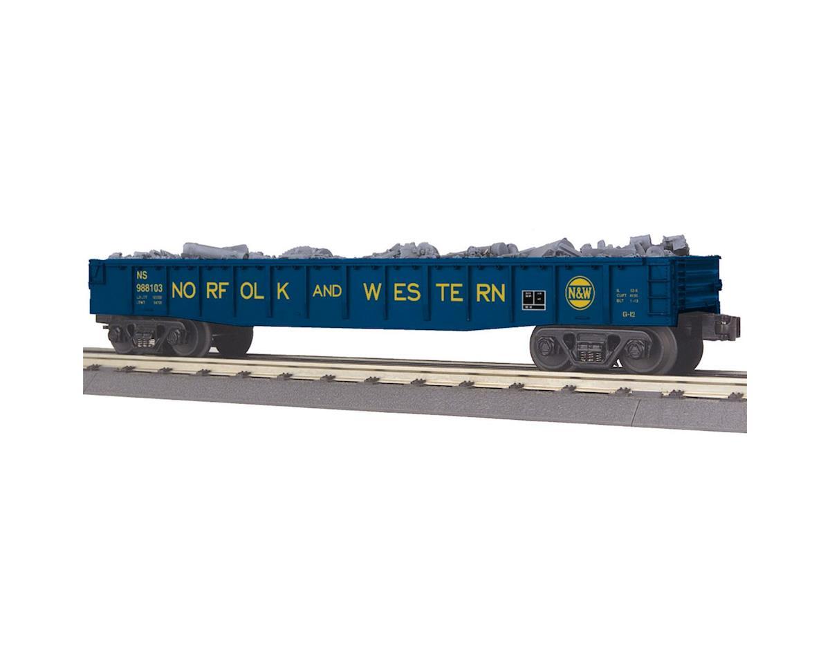 MTH Trains O-27 Gondola w/Junk Load, N&W