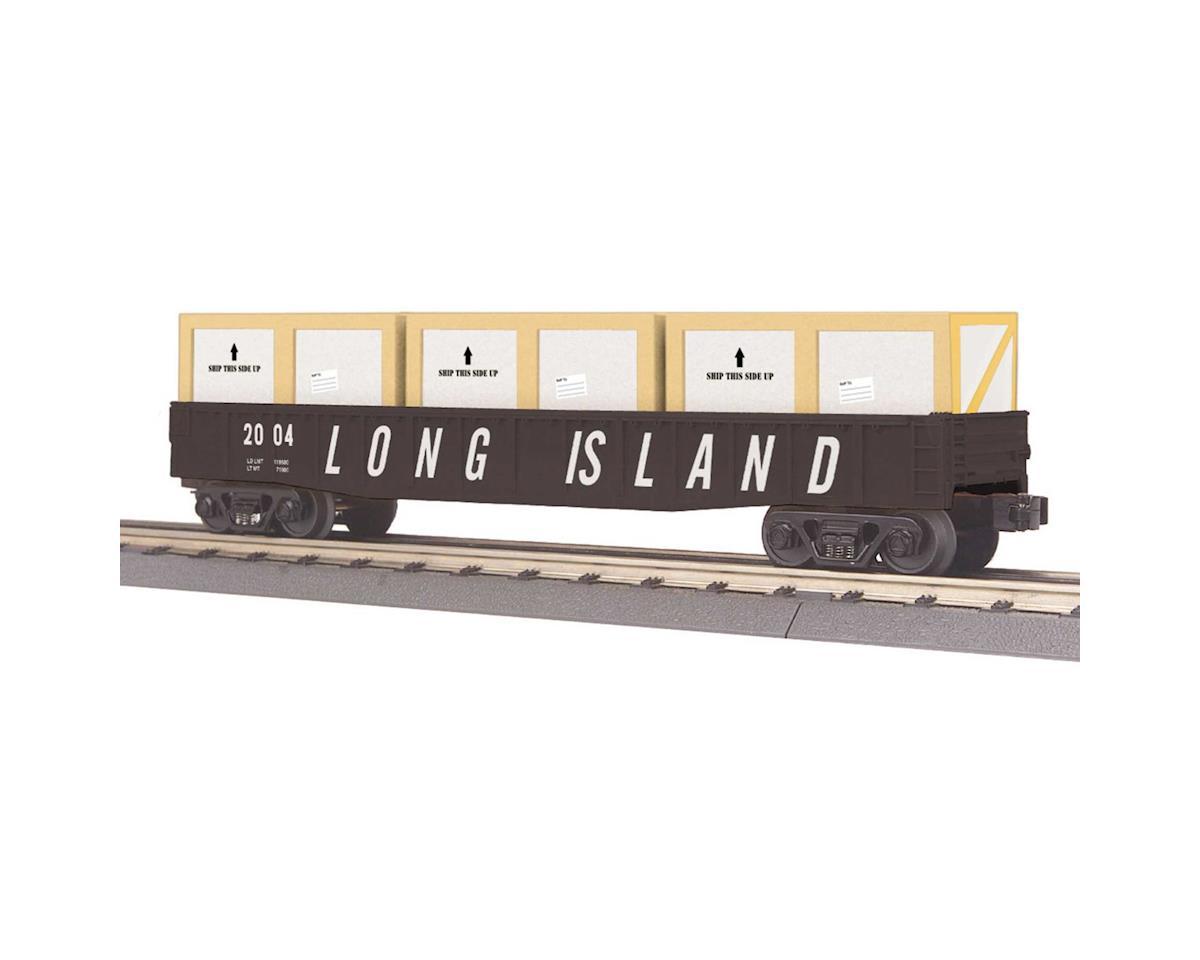 MTH Trains O-27 Gondola w/Crates, LIRR