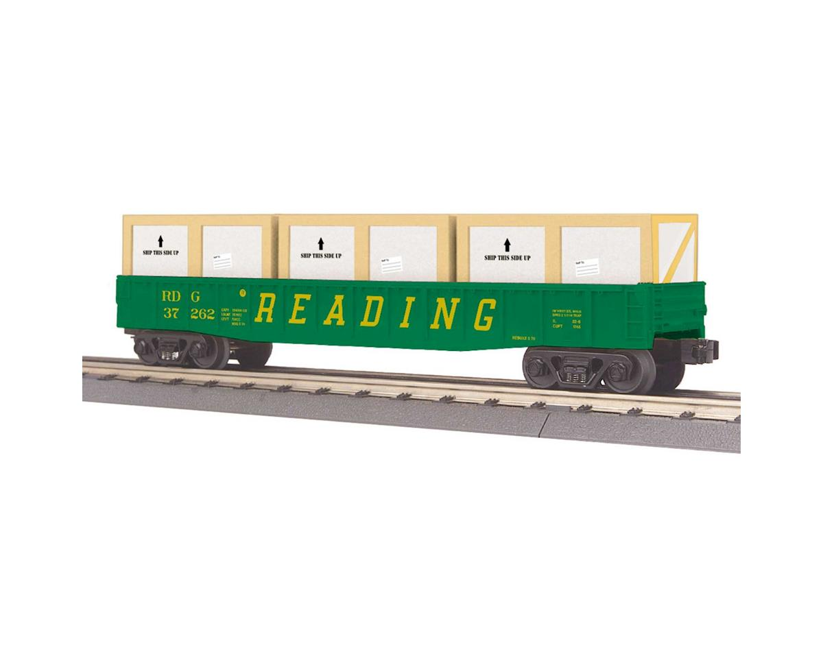 MTH Trains O-27 Gondola w/Crates, NS