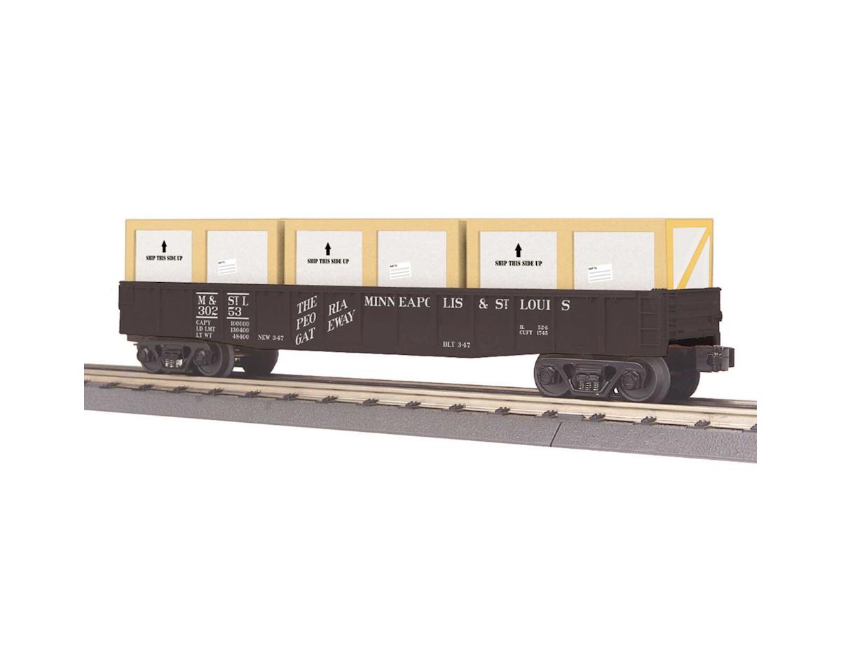 MTH Trains O-27 Gondola w/Crates, C&NW
