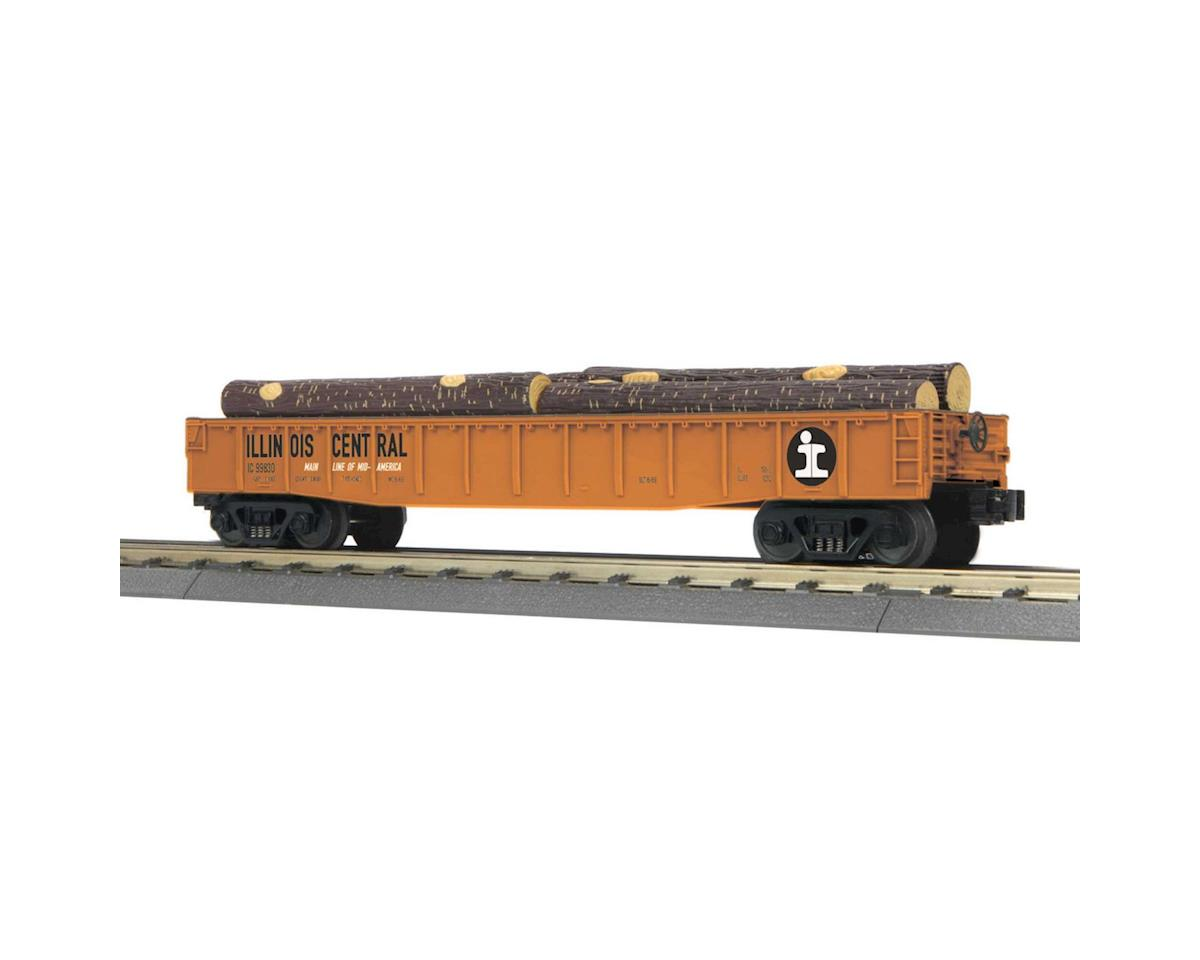 MTH Trains O-27 Gondola w/Log Load, IC
