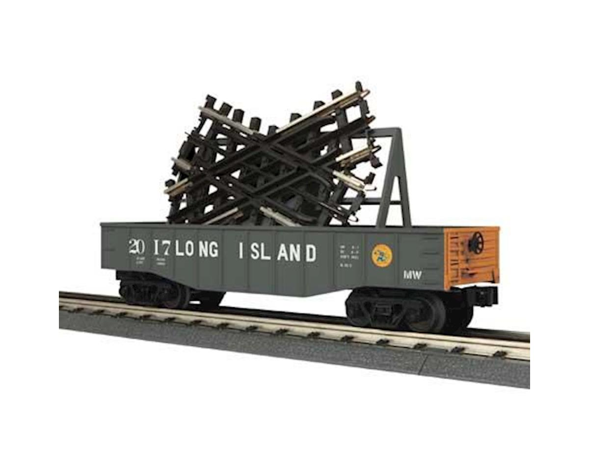 MTH Trains O-27 Gondola w/45 Degree Crossover, LIRR