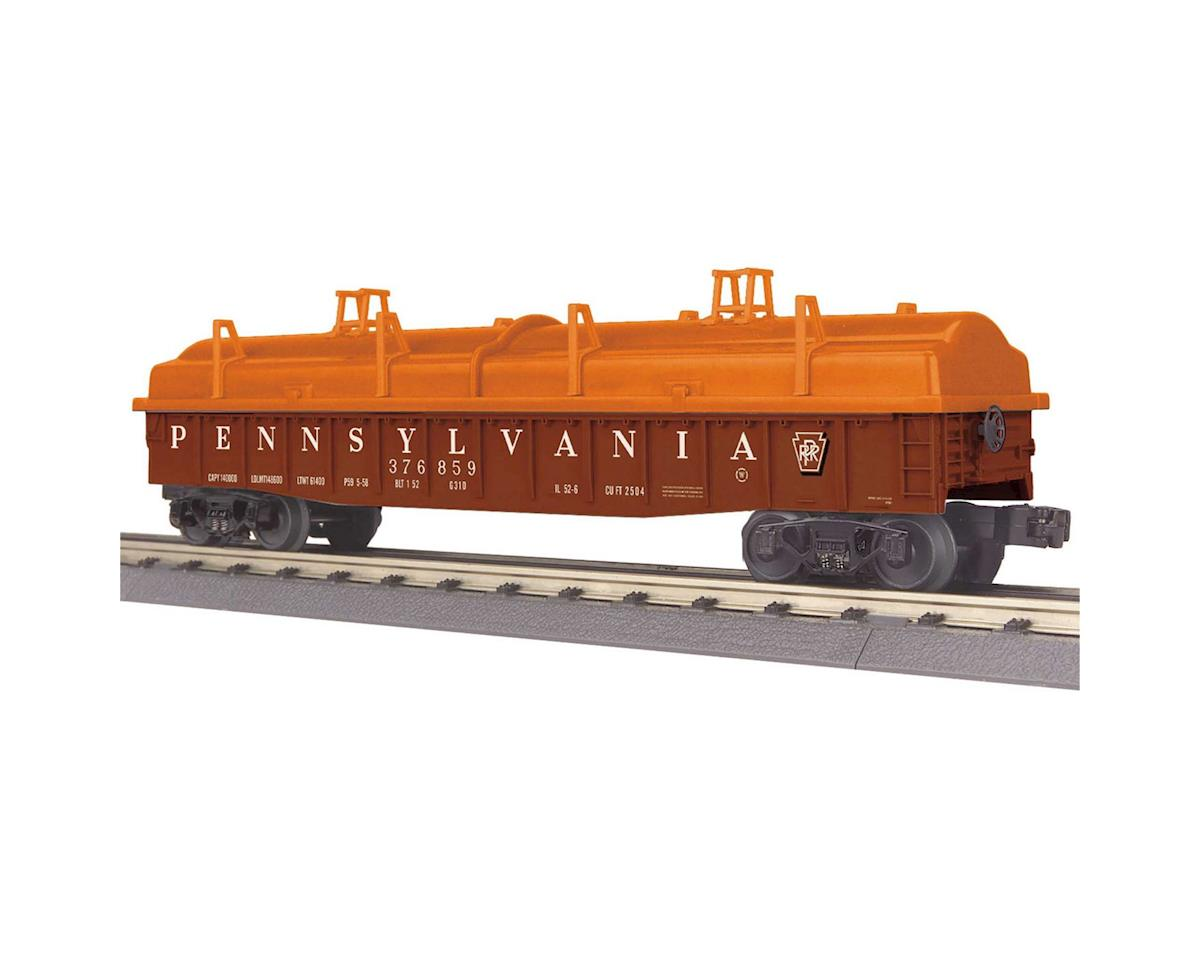 MTH Trains O-27 Gondola w/Cover, PRR