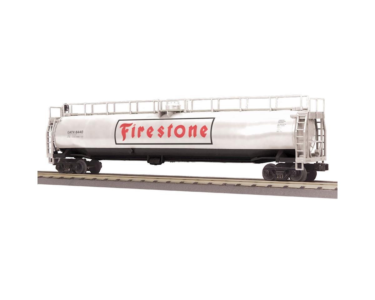 MTH Trains O-27 33,000-Gallon Tank, Firestone