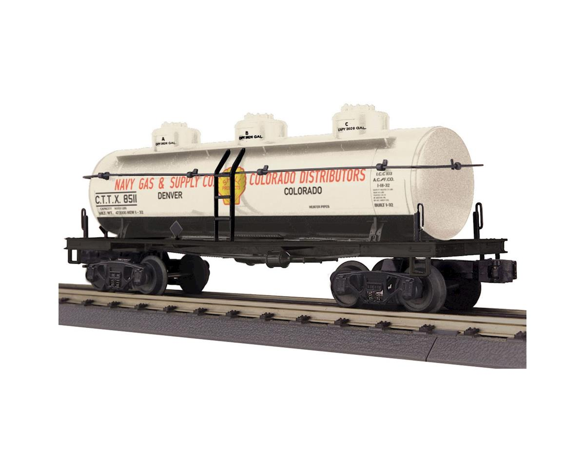 MTH Trains O-27 3-Dome Tank, Shell