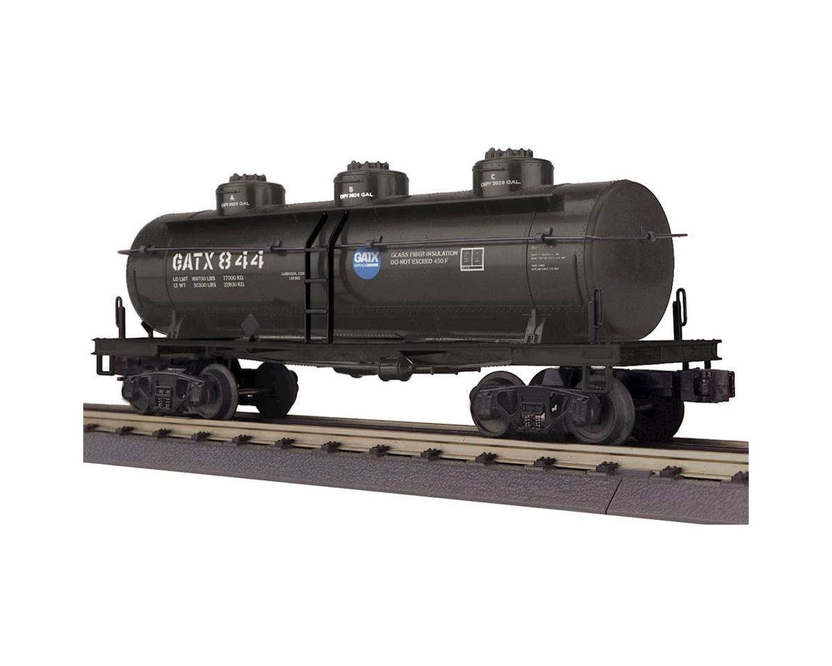 MTH Trains O-27 3-Dome Tank, GATX