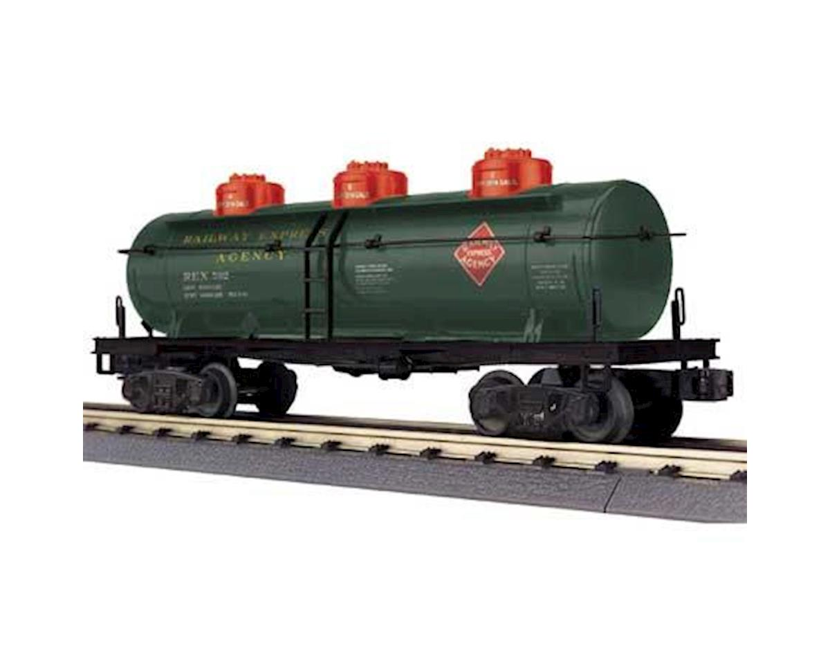 O-27 3-Dome Tank, REA by MTH Trains