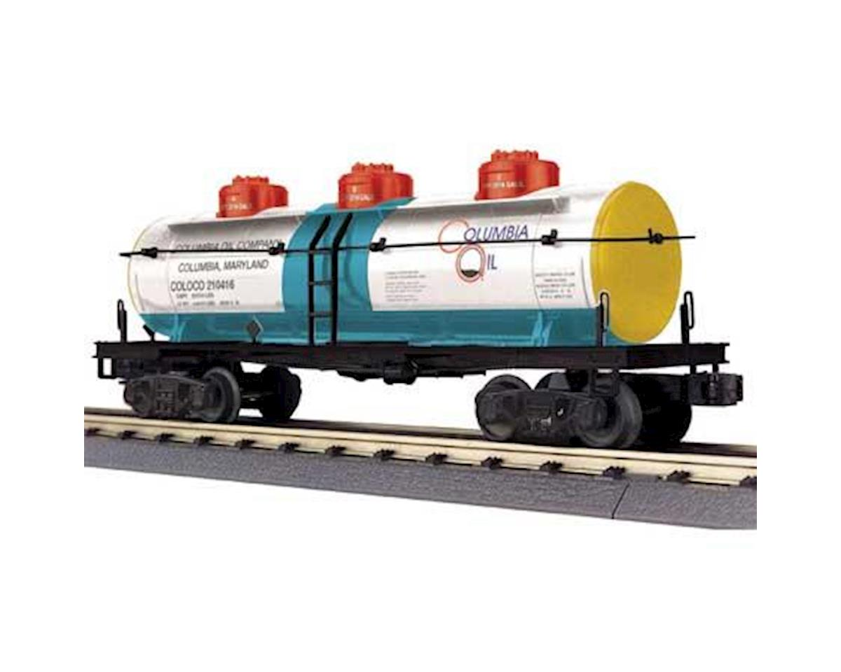 MTH Trains O-27 3-Dome Tank, Columbia Oil