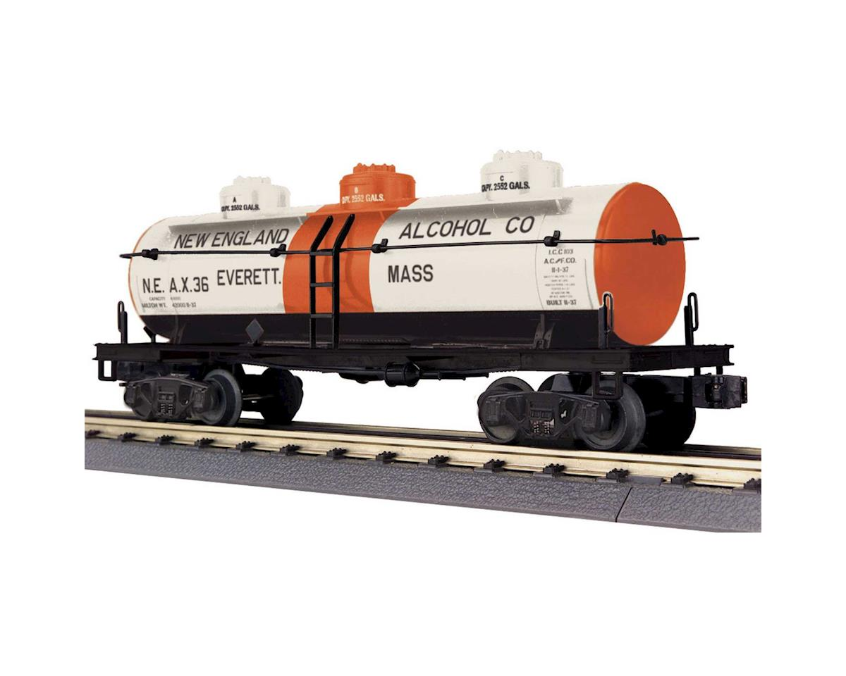 MTH Trains O-27 3-Dome Tank, New England Alcohol