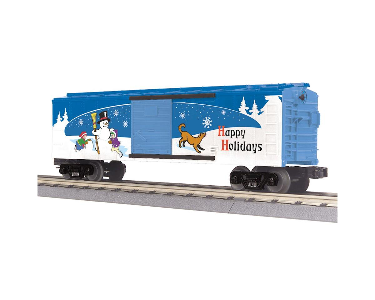 MTH Trains O-27 Box, Happy Holidays/2014