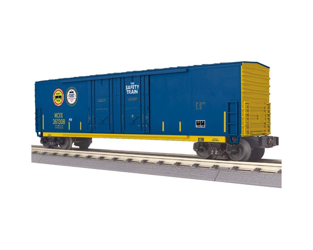MTH Trains O-27 50' Double Door Plugged Box, CSX
