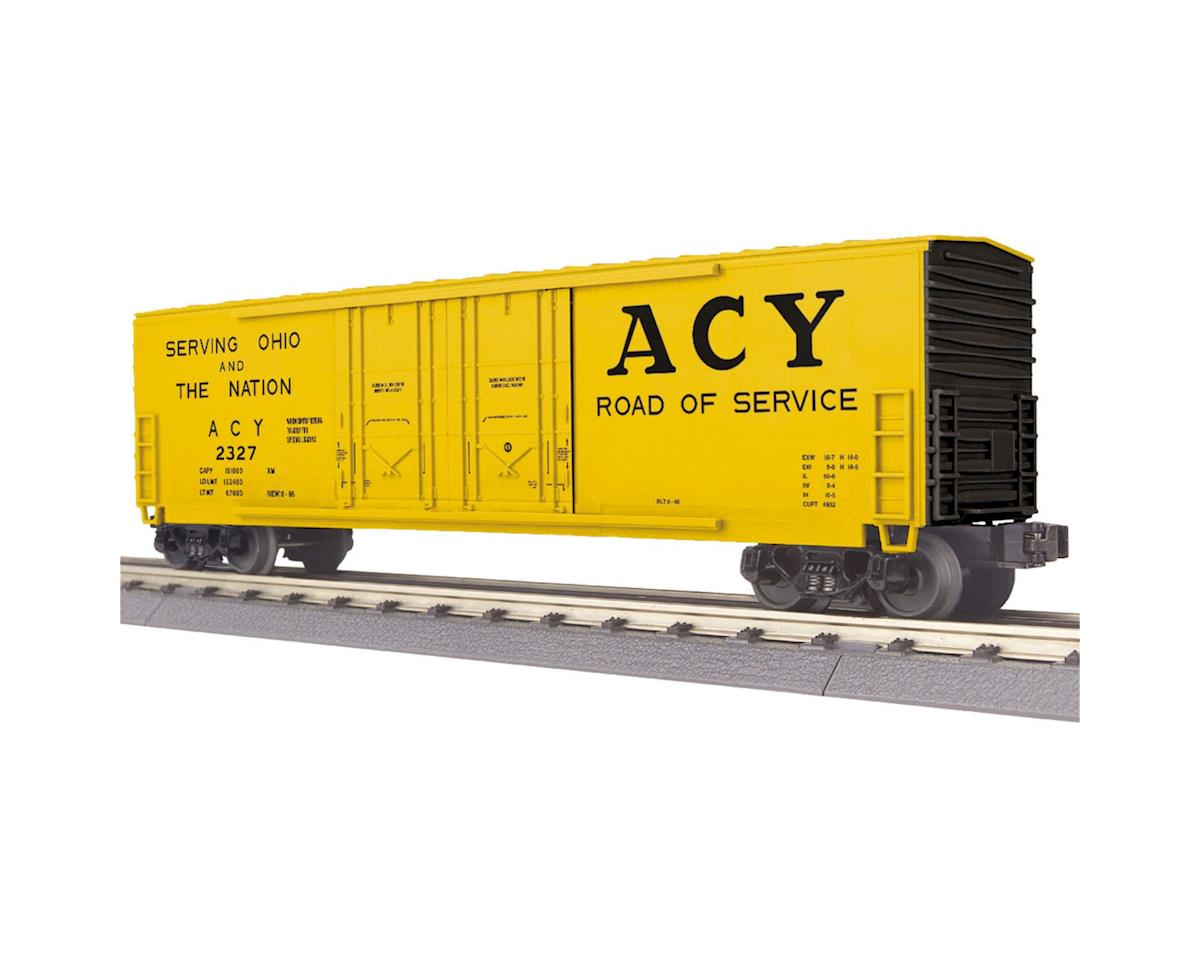 MTH Trains O-27 50' Double Door Plugged Box, AC&Y