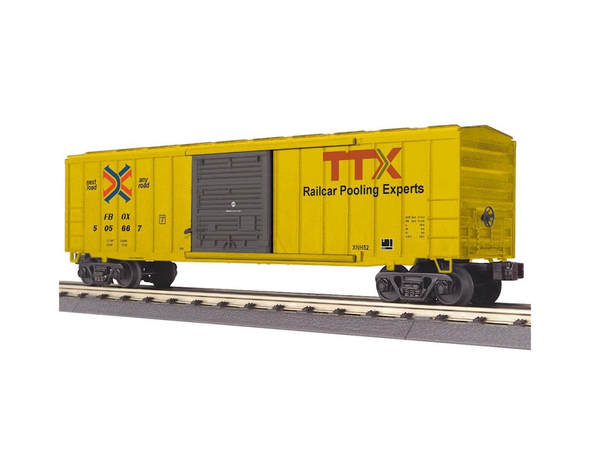 MTH Trains O-27 50' Modern Box, TTX