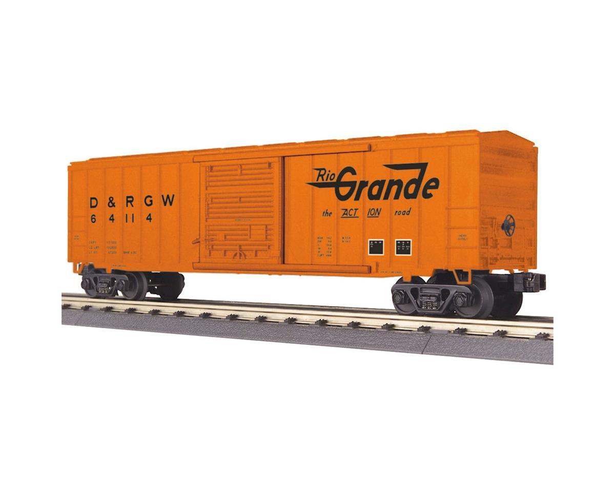 MTH Trains O-27 50' Modern Box, D&RGW